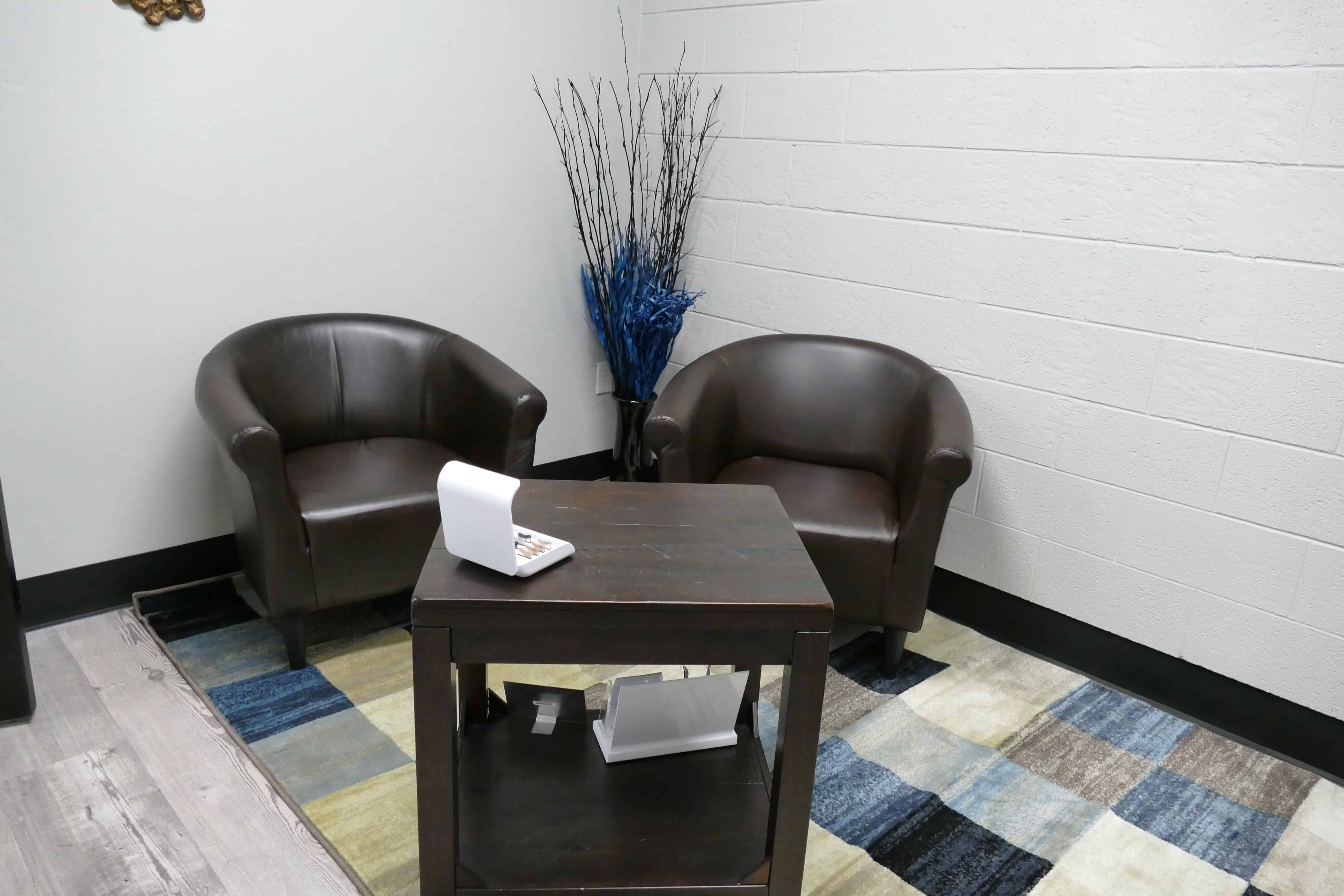 Waiting Area at Hearing Group in Stillwater, OK