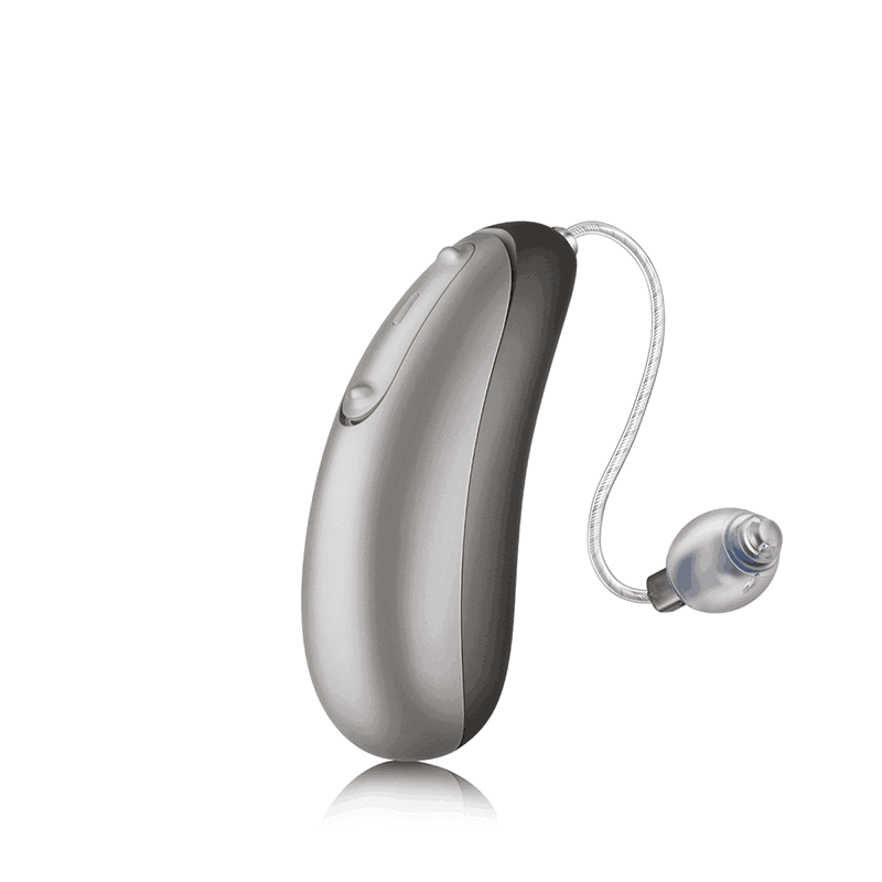Discover Jump Pewter Shine Hearing Aid