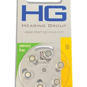 10 size hearing aid battery pack