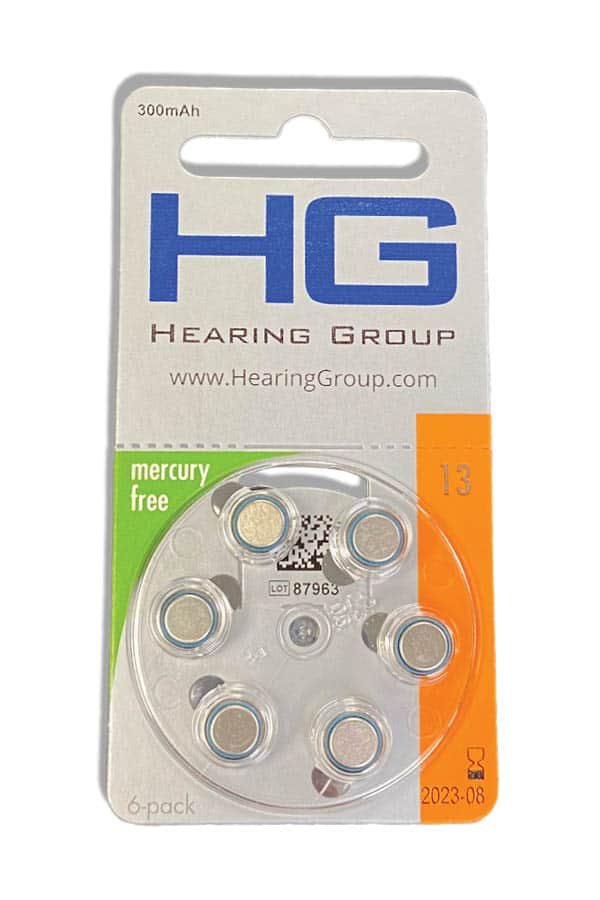 13 Hearing Aid battery pack