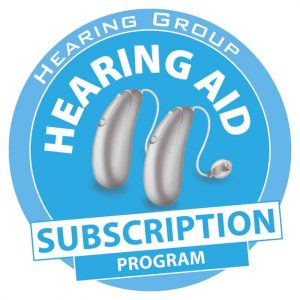 NEW Rechargeable Hearing Aid Subscription Program Logo