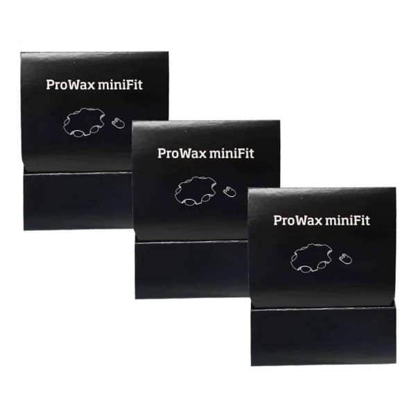 ProWax miniFit group of 3
