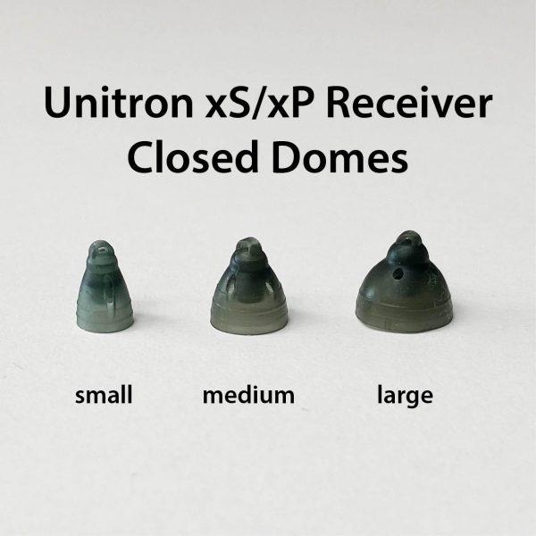 Unitron xS xP closed domes size comparison